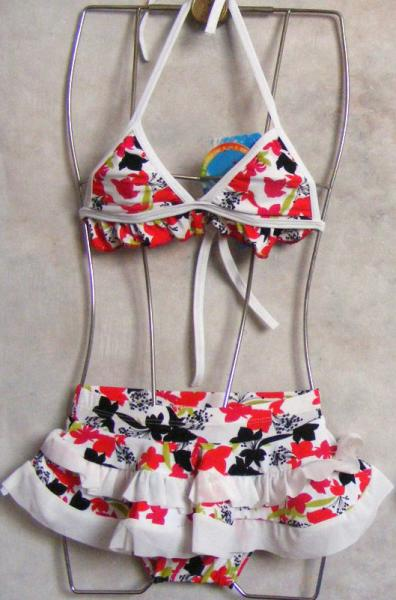NWT Girls Two Piece Swimsuit Tankini Bather SZ 3 4 6 8Y