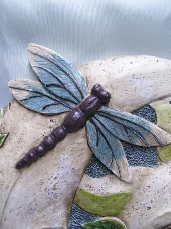 Celestial Garden Stone Sun Moon Dragonfly Outdoor Decor Ebay