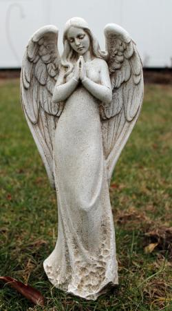 Praying Angel Garden Statue Serene Outdoor Decor eBay