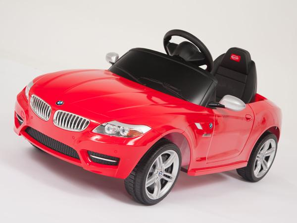 BMW License Ride on Toys Kids Remote Control Car Power Wheel Key Lights  In