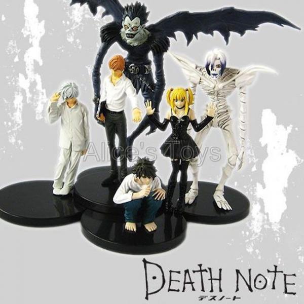 Death Note Rem Misa Ryuk Night Yagami Japan Anime Figures