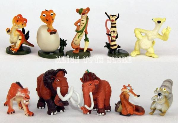 Toys From Ice Age 1 : Iceage ice age figure toys pcs lot american manny sid