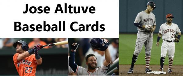 Details About You Pick Your Cards Jose Altuve Houston Astros Baseball Card Selection