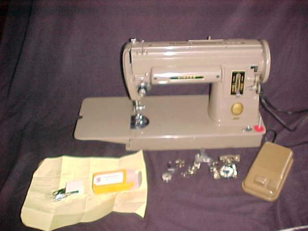 singer slant needle sewing machine