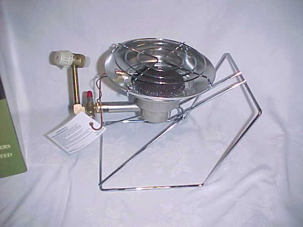 Paulin 15000BTU Model 3500EZ Propane Stove/Heater Hunt Ice ...