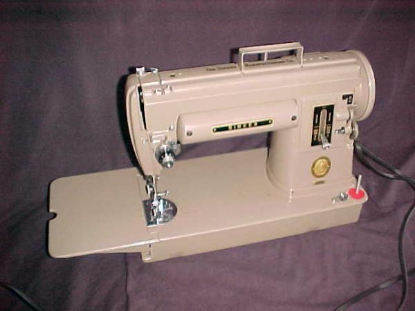 slant needle sewing machine