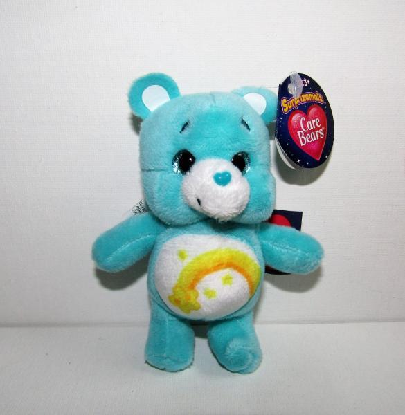 "SURPRIZAMALS CARE BEARS 4/"" PLUSH SHARE BEAR LOOSE WITH CAPSULE"