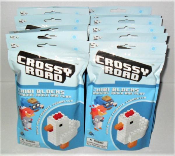 CROSSY ROAD CHIBI BLOCKS SINGLE LLAMA YOU BUILD NEW SEALED L@@K
