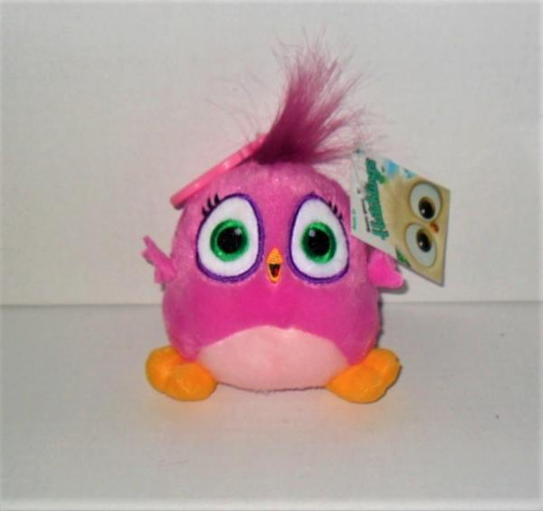 "ANGRY BIRDS HATCHLINGS 4/"" PLUSH PINK NEW WITH TAG"