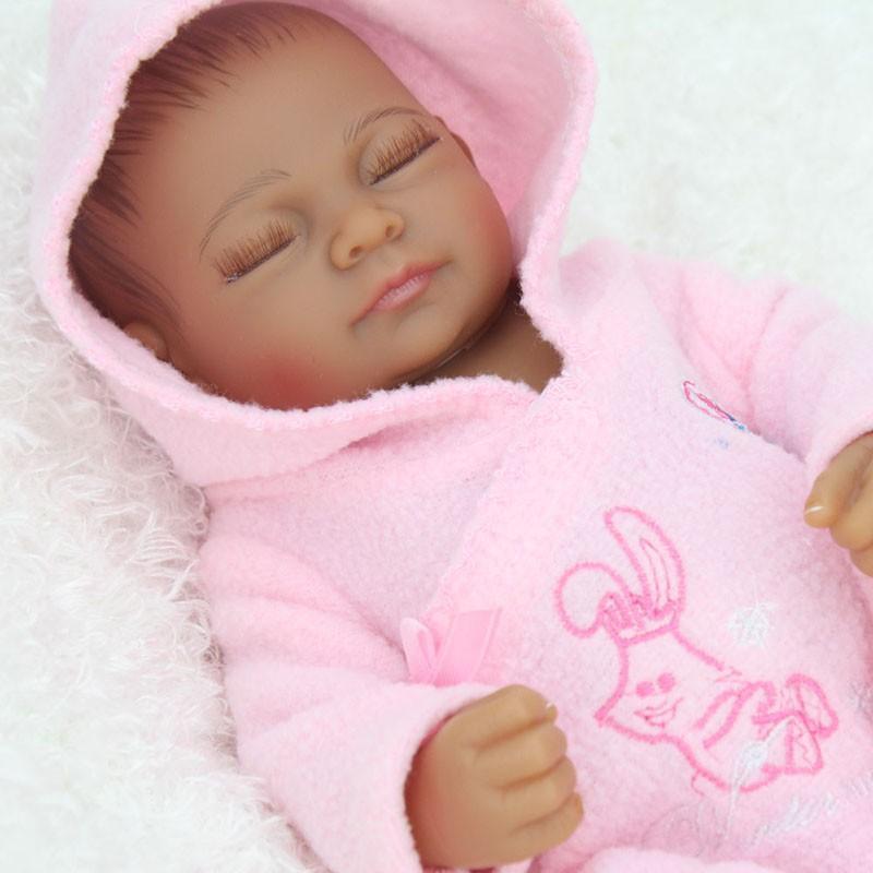 "11"" Cute African American Black Girl Baby Handmade ..."