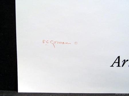 R C Gorman Jonie VINTAGE FINE ART GALLERY POSTER MINT CONDITION FREE SHIP L@@k | eBay