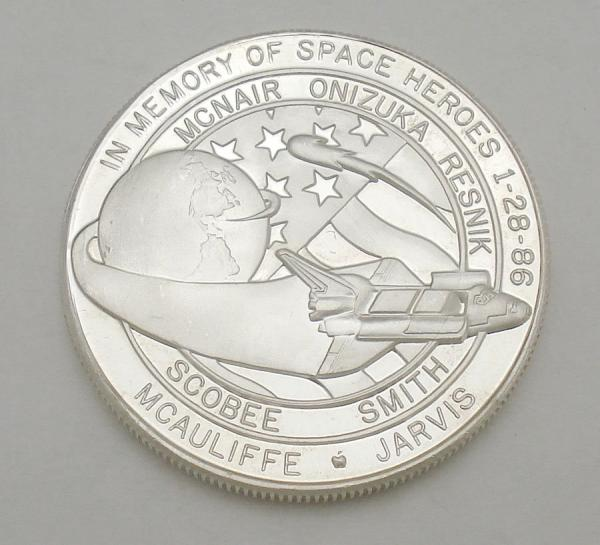space shuttle challenger coins - photo #29