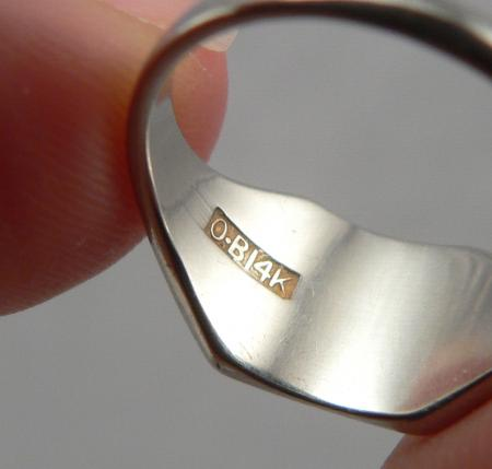 Ostby And Barton Signet Ring