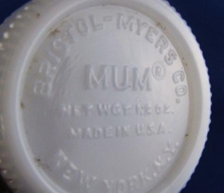 3 Bristol Myers Mum Jars Vintage Milk Glass | eBay