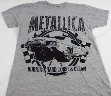 Mens New Bravado Metallica Graphic Logo Short Sleeve T