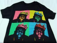 Mens Notorious Big Biggie Smalls Old School Rap Hip Hop T Shirt Size s