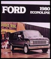 1980 Ford Econoline Van Original Color Brochure 80