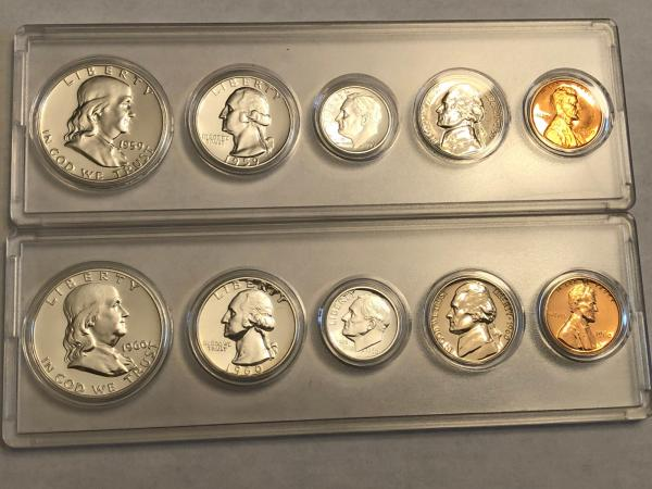 1960 uncirculated coin set value