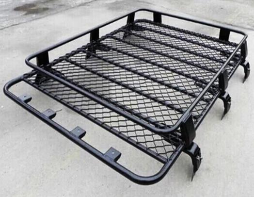 Transit Van Steel Roof Rack Tray Top Black 4x4 Cargo