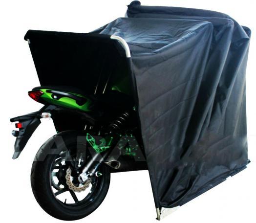 large motorbike bike shelter cover outdoor shed garage. Black Bedroom Furniture Sets. Home Design Ideas