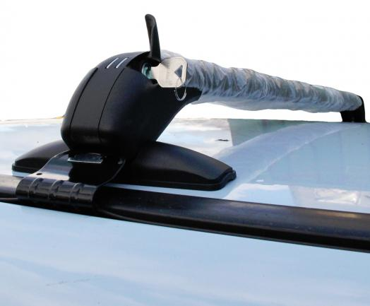 universal 4x4 car roof bars rain gutter mount anti theft. Black Bedroom Furniture Sets. Home Design Ideas