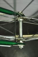 Vintage AMF Voyager Ladies bicycle bike cruiser coaster brake green