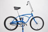 Vintage 1970 Schwinn Sting Ray Muscle Bike Boys Bicycle Sky Blue Slik