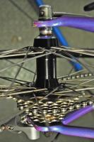 Trek carbon fiber 2300 road racing bicycle bike purple ultegra 60cm