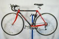 Trek carbon fiber 2300 ZX road racing bicycle bike Red Shimano 105