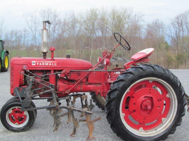 Farmall Super A Cultivator : International farmall super c tractor w cultivators ebay