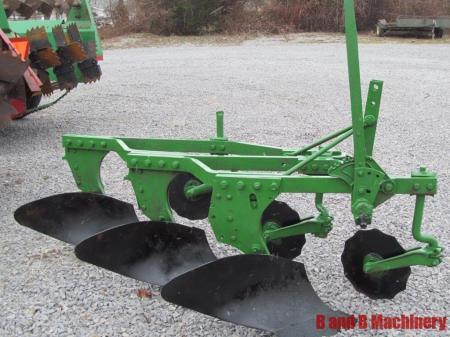 bottom plow Three