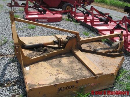 Woods 84 Bush Hog Mower Cutter Brush Mower 7 Foot Ebay
