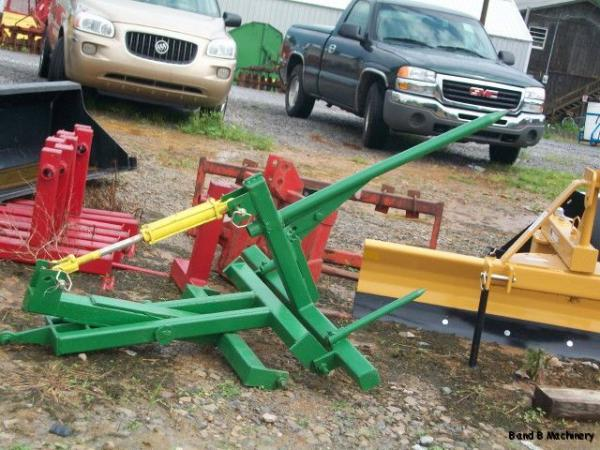 Hay Scissor Fork Lift : Point scissor lift and hay fork