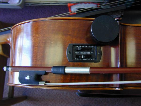 Cello Equalizer and Bow