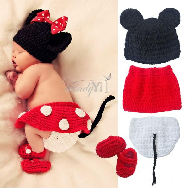 Shop Disney Mickey Mouse Knitted Pom Pom Baby Boy Warm Winter Hat - Navy Free delivery and returns on eligible orders.4/5.