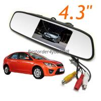 TFT Screen LCD Car Rearview Mirror Monitor For Car Rear View DVR
