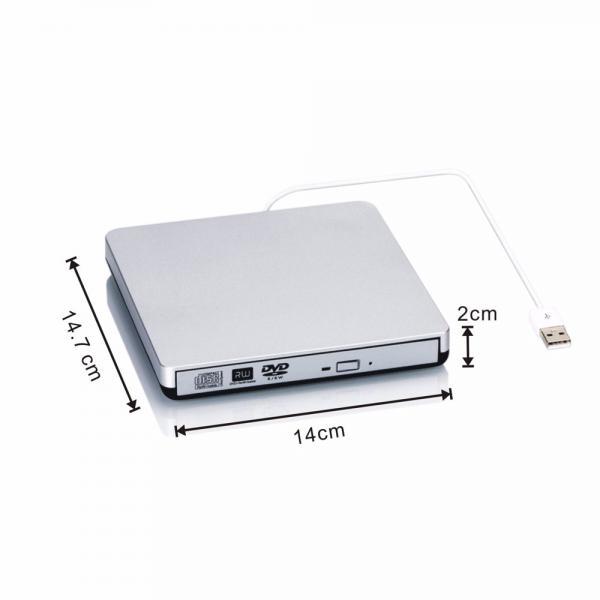 External Usb2.0 Cd-rw Drive Writer Burner Dvd Player For Mac