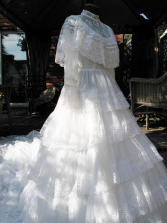 Southern Belle Vintage Wedding Dress Romantic Civil War