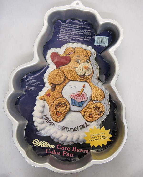 Care Bear Silver Cake Baking Pan From Wilton 2105 1793