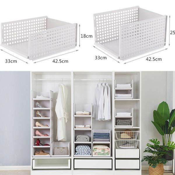 Details about Portable Bedroom Storage Solution Box Wardrobe Organiser  Drawer Separate