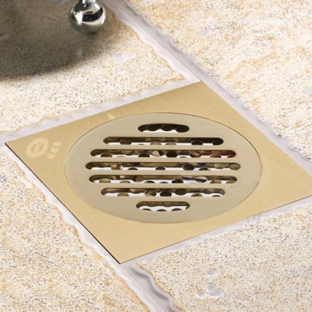 New copper deodorant square floor drain strainer cover for 10 floor drain cover