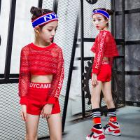 Fashion  Hip-hop Girl Kid Ballroom Modern Jazz Dance Costumes Net Hole Style
