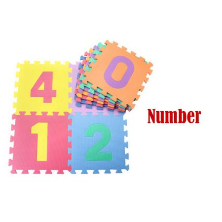 Child Soft Eva Foam Play Mat Alphabet Numbers Gym Puzzle