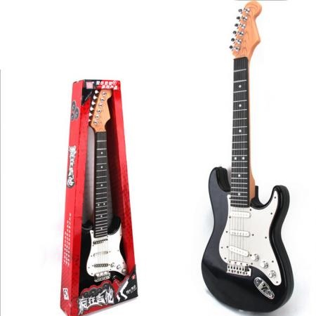 kid 39 s simulation electric guitar 6 strings for children 39 s musical toy. Black Bedroom Furniture Sets. Home Design Ideas