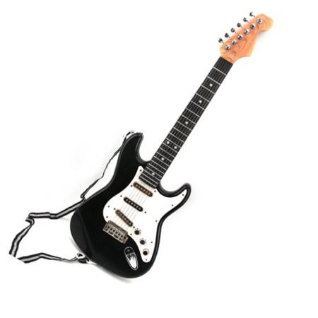 kid 39 s simulation electric guitar 6 strings children 39 s musical education toys ebay. Black Bedroom Furniture Sets. Home Design Ideas