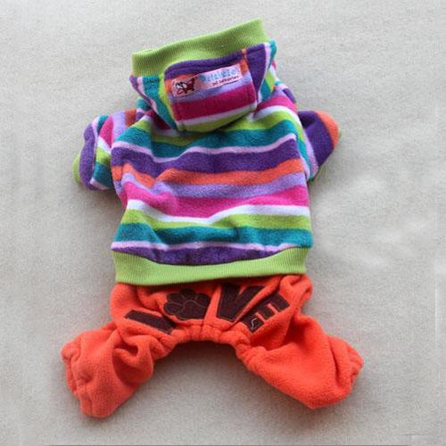 New Pet Puppy Dog Clothes Clothing Hooded Cloth Size All Size 2 Color Choose