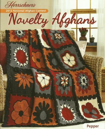 Novelty Knitting Pattern Books : NEW Novelty Afghans Crochet & Knit Pattern Leaflet ~Bowling~Rodeo~Flowers...