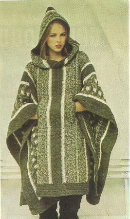 CROCHET PATTERNS HOODED PONCHOS Crochet Patterns Only