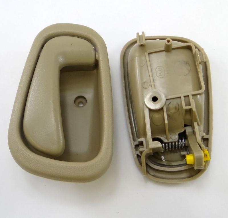 Beige Inside Door Handles 2 Left 2 Right For 1998 2002 Toyota Corolla Prizm Ebay