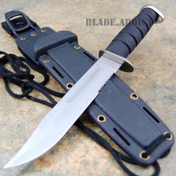 12 Marine Hunting Tactical Military Combat Survival Knife ...